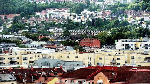 Nyboligmarkedet i Oslo falt i mai.