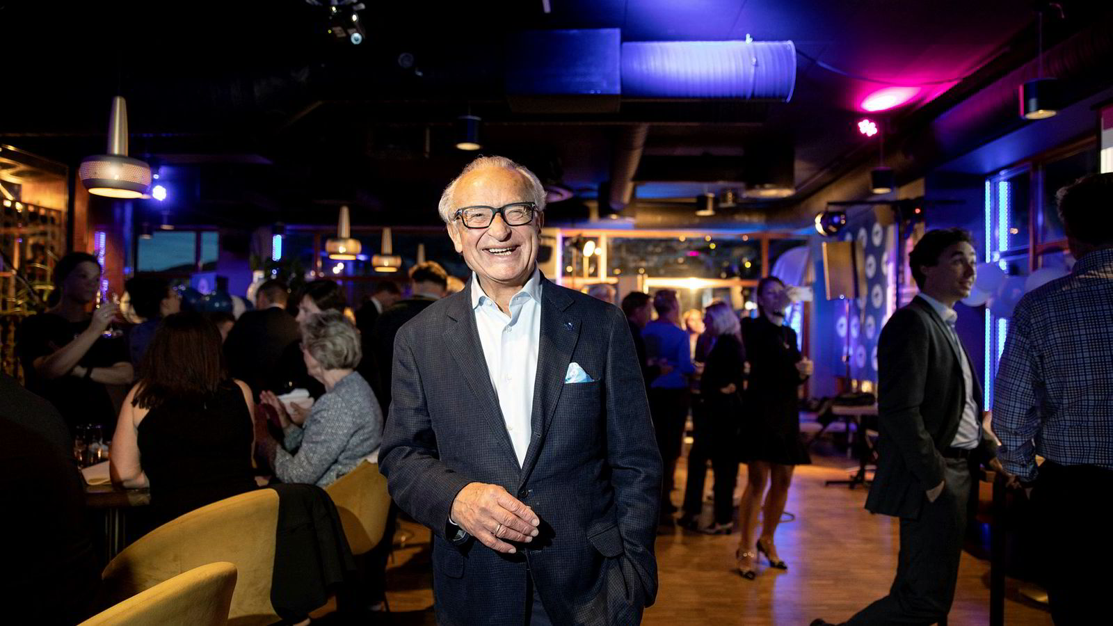 Forretningsmann Herman Friele gjør seg klar for comeback.