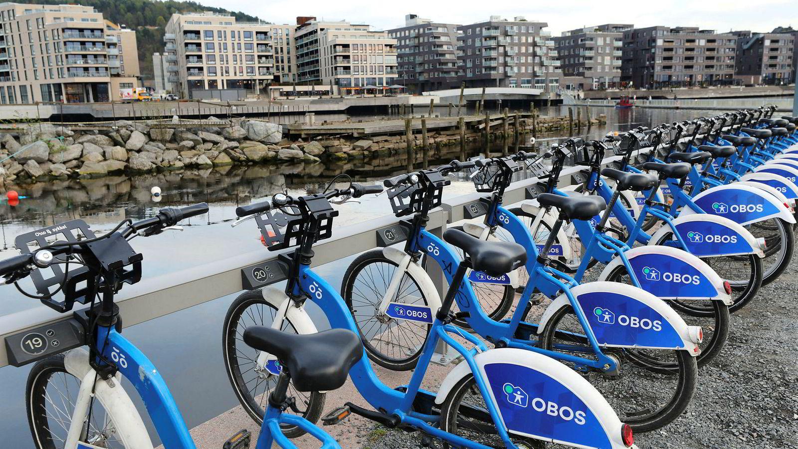  100.000 mennesker har syklet nesten tre millioner sykkelturer i år. Bysykkelen er ett av flere viktige bidrag til å redusere den alvorlige luftforurensningen i Oslo.
