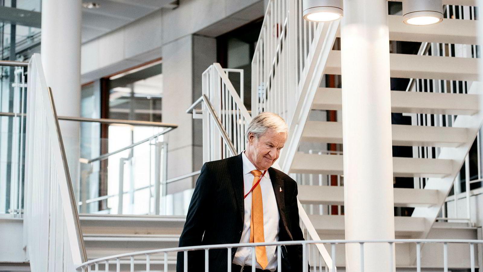 – Jeg har ikke tenkt på å selge i det hele tatt, sa Bjørn Kjos under generalforsamlingen 13. april.