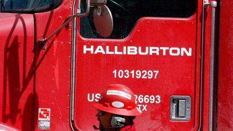 Oljeserviceselskapet Halliburton rapporterer om utfordrende markeder. Foto: AP Photo/David Zalubowski