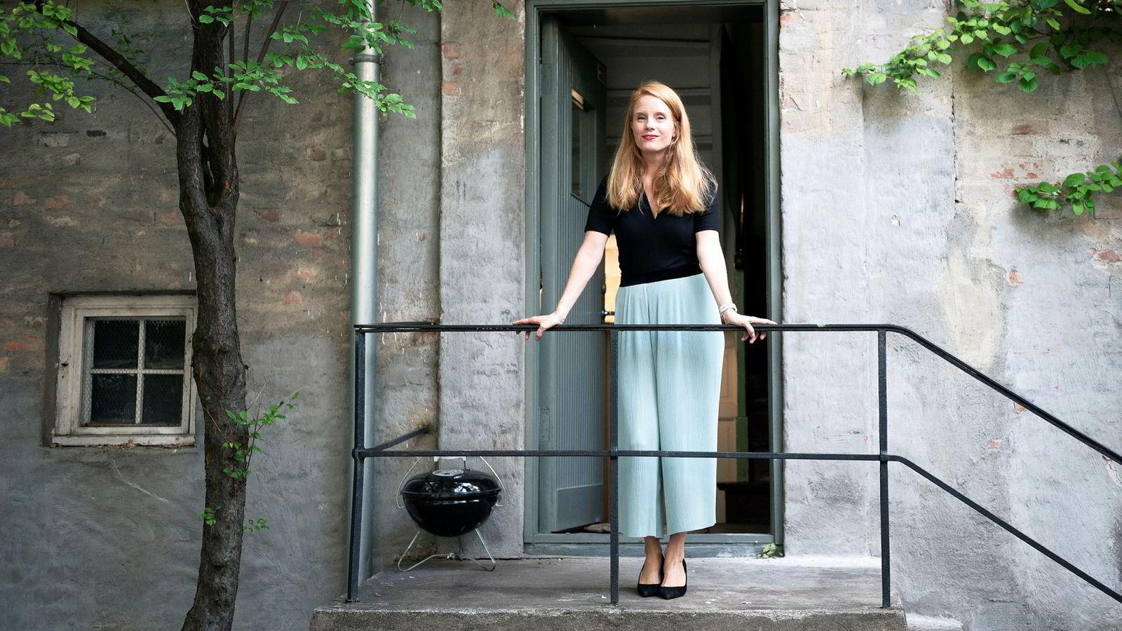 Susanne Kaluza har forlatt jobben i Trigger til fordel for She, et initiativ for bedre likestilling i næringslivet. Her fotografert hjemme hos seg selv ved Majorstuen.