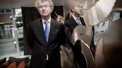 Sjeføkonom Jan Ludvig Andreassen i Eika. Foto: Ida von Hanno Bast