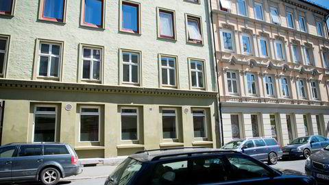 Fredensborg eier blant annet bygårdene i Urtegata 20-22.