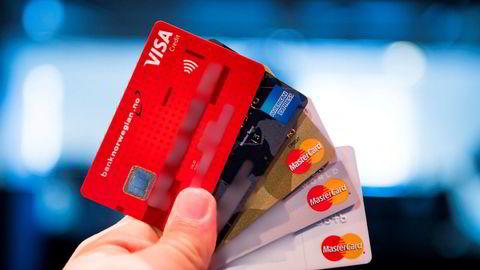 Kredittkort - illustrasjonsbilde