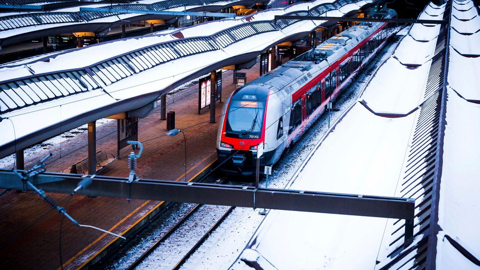 Innstilte tog koster millioner for NSB.