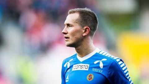 Tromsøs Morten Gamst Pedersen under eliteseriekampen i fotball mellom Brann og Tromsø på Brann stadion.