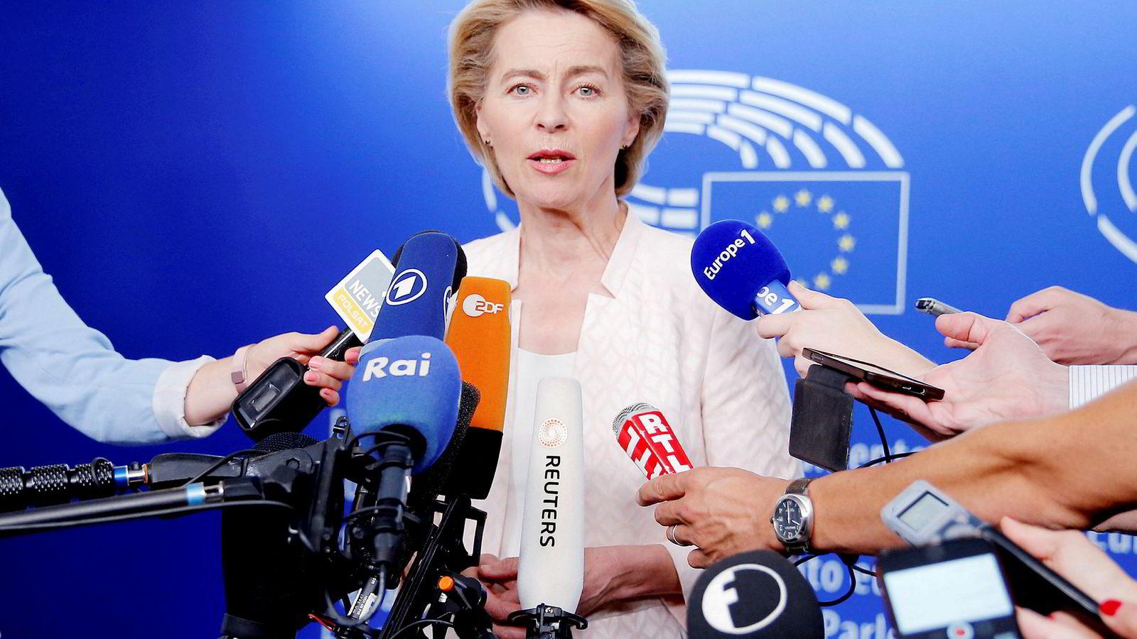 Tysklands forsvarsminister Ursula von der Leyen.