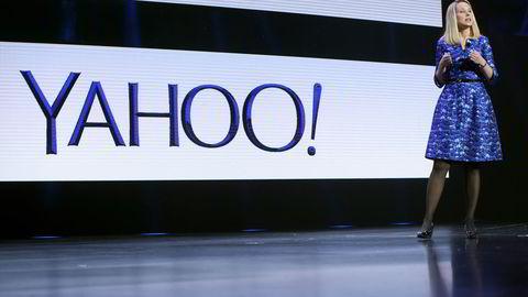 Yahoo-sjef Marissa Mayer. Foto: Robert Galbraith/