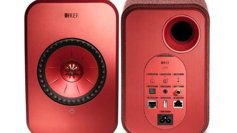 KEF Høytalere KEF LSX Aktive stereohøyttalere med støtte for strømmetjenester – –