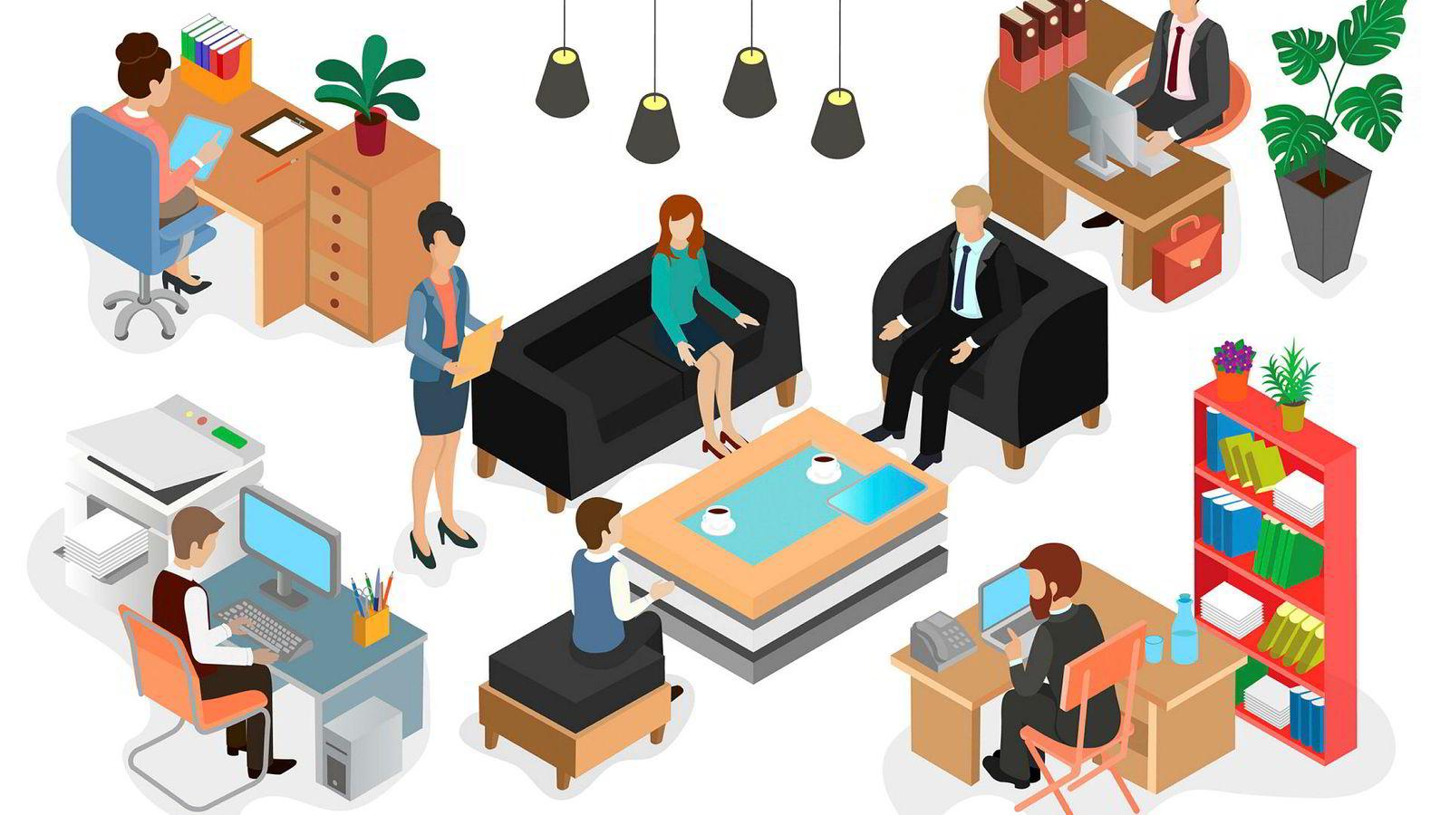 Det hjelper lite at en som leder synes at skifte av kontor er en liten bagatell i disse «clean desk»-tider dersom professoren som har fått lov å støve ned på sitt store kontor i 30 år opplever det å flytte til et mindre kontor som en stor og ubehagelig endring.