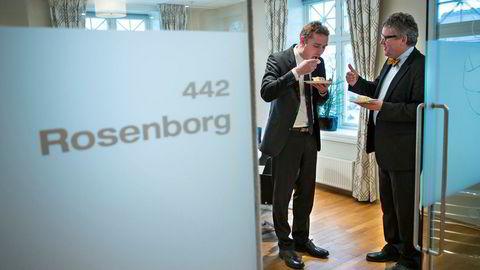 Ola Borten Moe og Erik Haugane er to av fire grunnleggere av oljeselskapet Okea i Trondheim.
