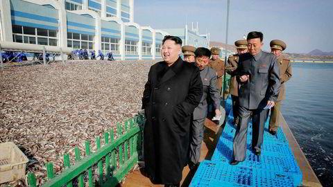 Nord-Koreas leder Kim Jong-un er USAs og president Donald Trumps største sikkerhetspolitiske utfordring.