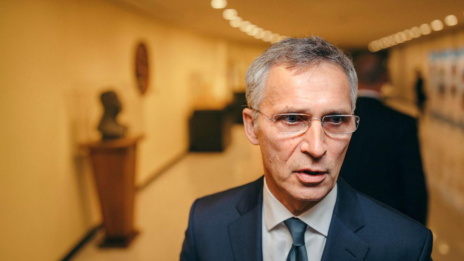 Natos generalsekretær Jens Stoltenberg er nå i gang med å vurdere hvordan alliansen skal svare på russiske raketter.