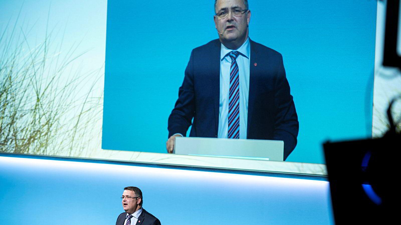 Olje- og energiminister Kjell-Børge Freiberg liker ikke at Høyre-topper åpent lufter sine tanker om å endre norsk oljepolitikk.