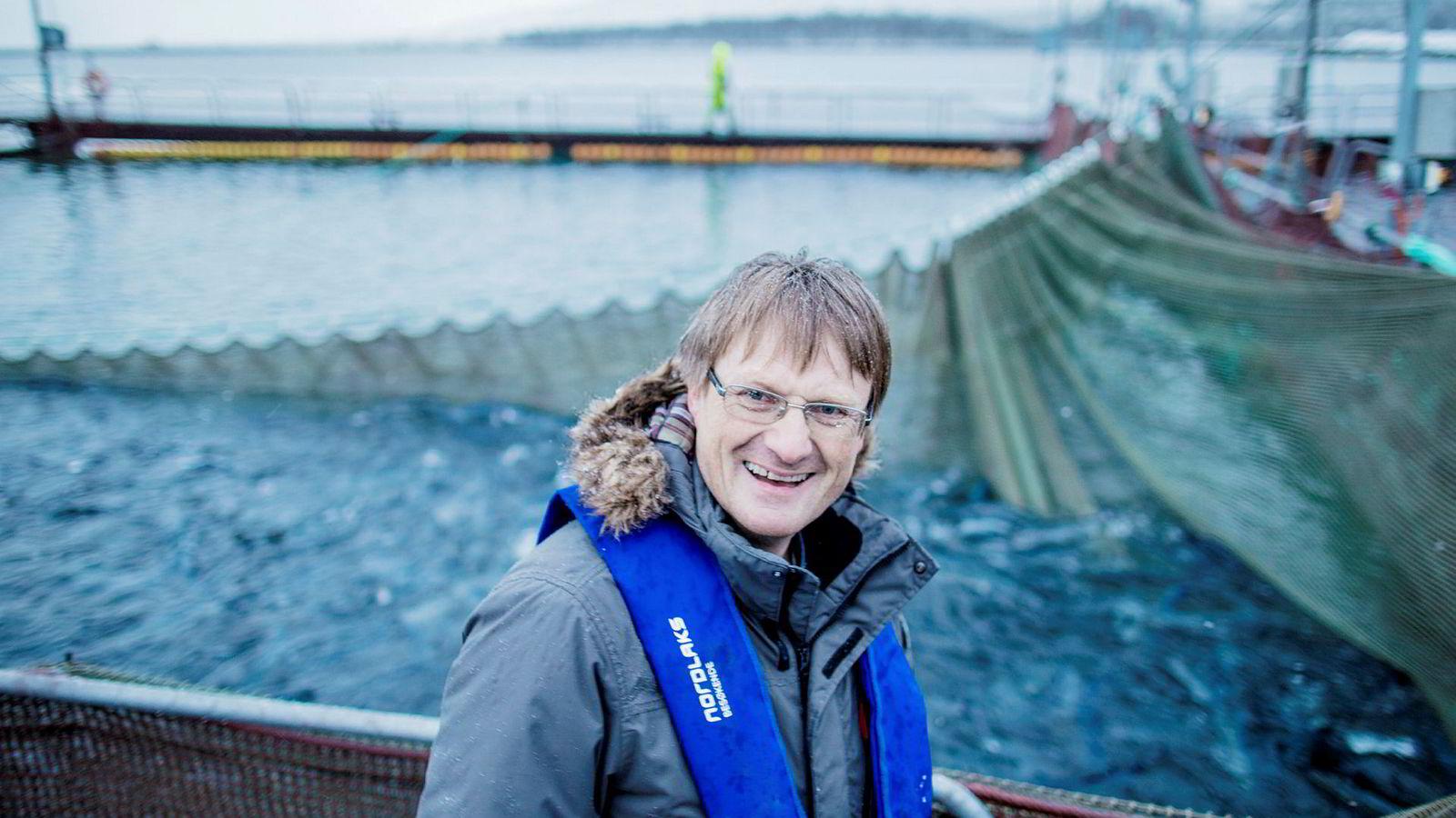 Inge Berg, eier og inntil nå administrerende direktør i Nordlaks-konsernet.