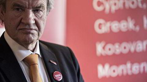 Norwegian-sjef Bjørn Kjos har ikke solgt, men lånt ut aksjer, noe som ikke er meldepliktig. FOTO: Aleksander Nordahl