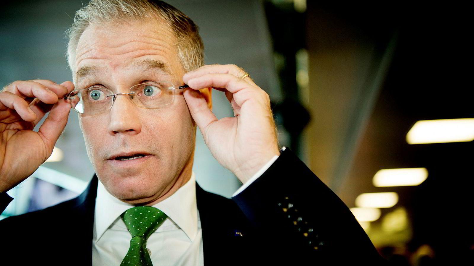 SAS-sjef Rickard Gustafson