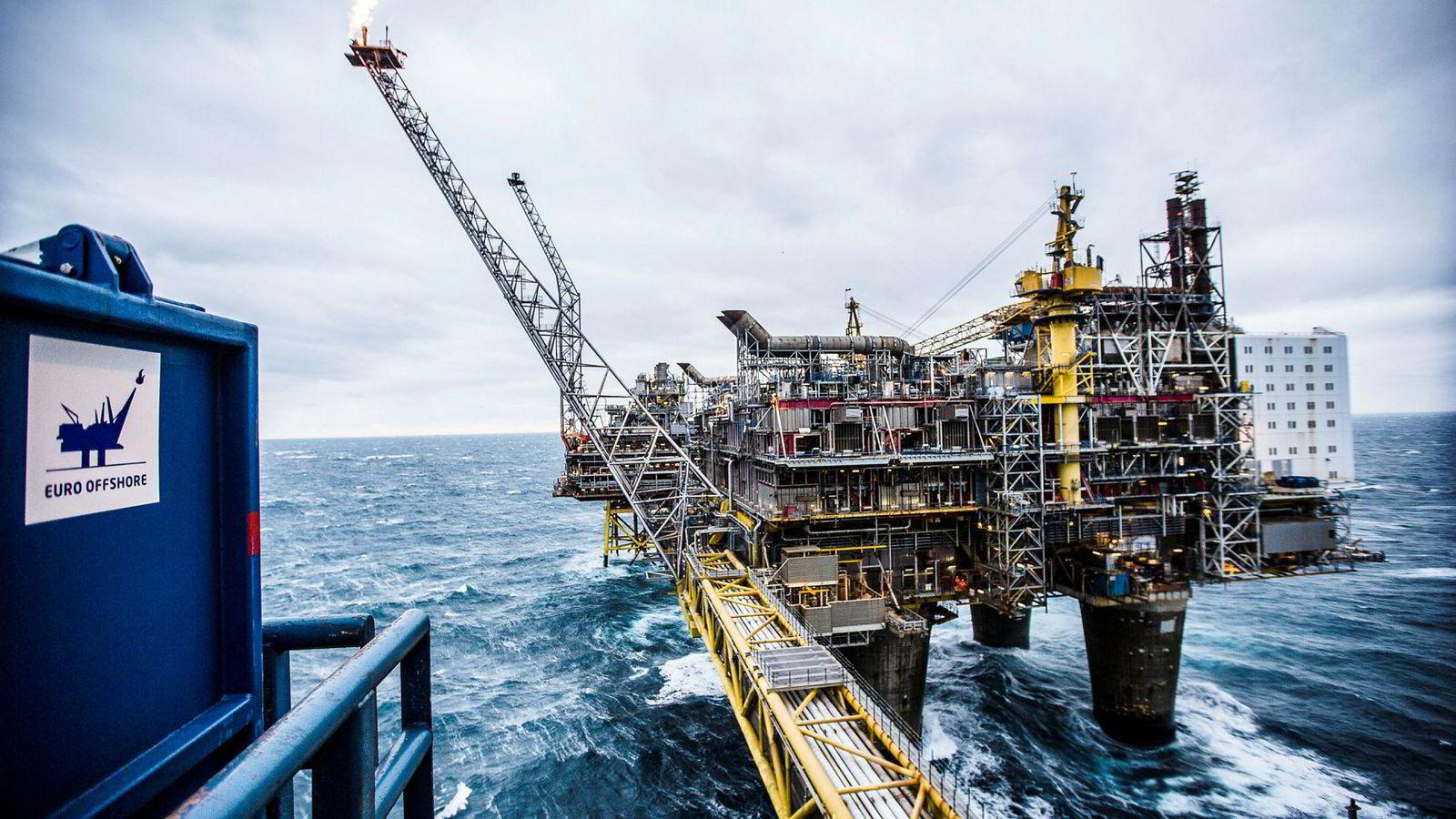 45 av de 67 milliardene i økte skatteinntekter kommer fra oljevirksomheten.