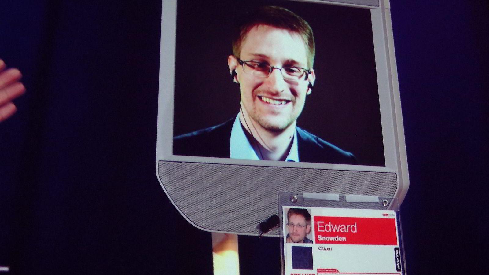 Edward Snowden. Foto: Glen Chapman, AFP/NTB Scanpix