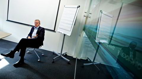 Hovedaksjonær og styreleder Helge Møgster  i Dof ASA. Foto: Eivind Senneset