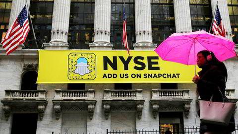 Snapchats morselskap Snap Inc. velger tradisjonelle New York Stock Exchange fremfor Nasdaq for børsnoteringen.