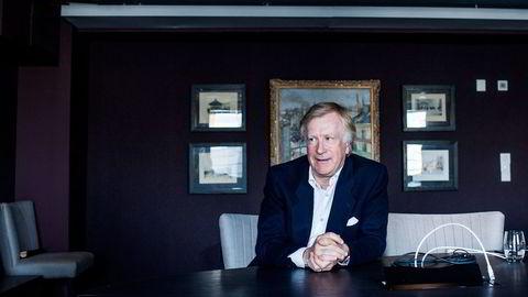 Trebarnsfar og eiendomsinvestor Carl Erik Krefting (62) forlot karrieren som forretningsadvokat i 2004 og satset på Søylen Eiendom. Foto: Adrian Nielsen