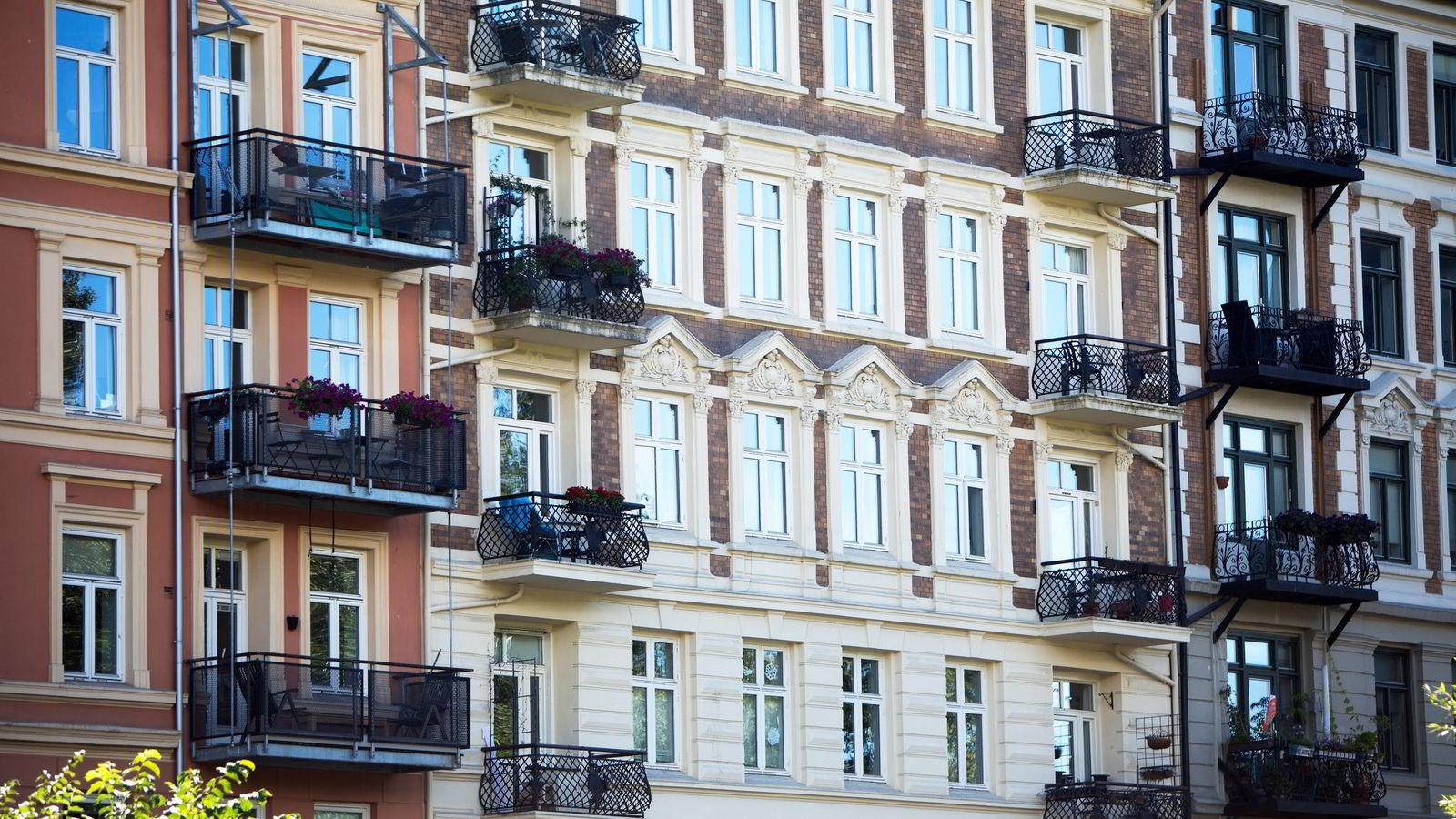 DNB Eiendom ser ikke bort fra kvadratmeterpriser rudt 150.000 kroner på de beste adressene i Oslo om få år. Foto: