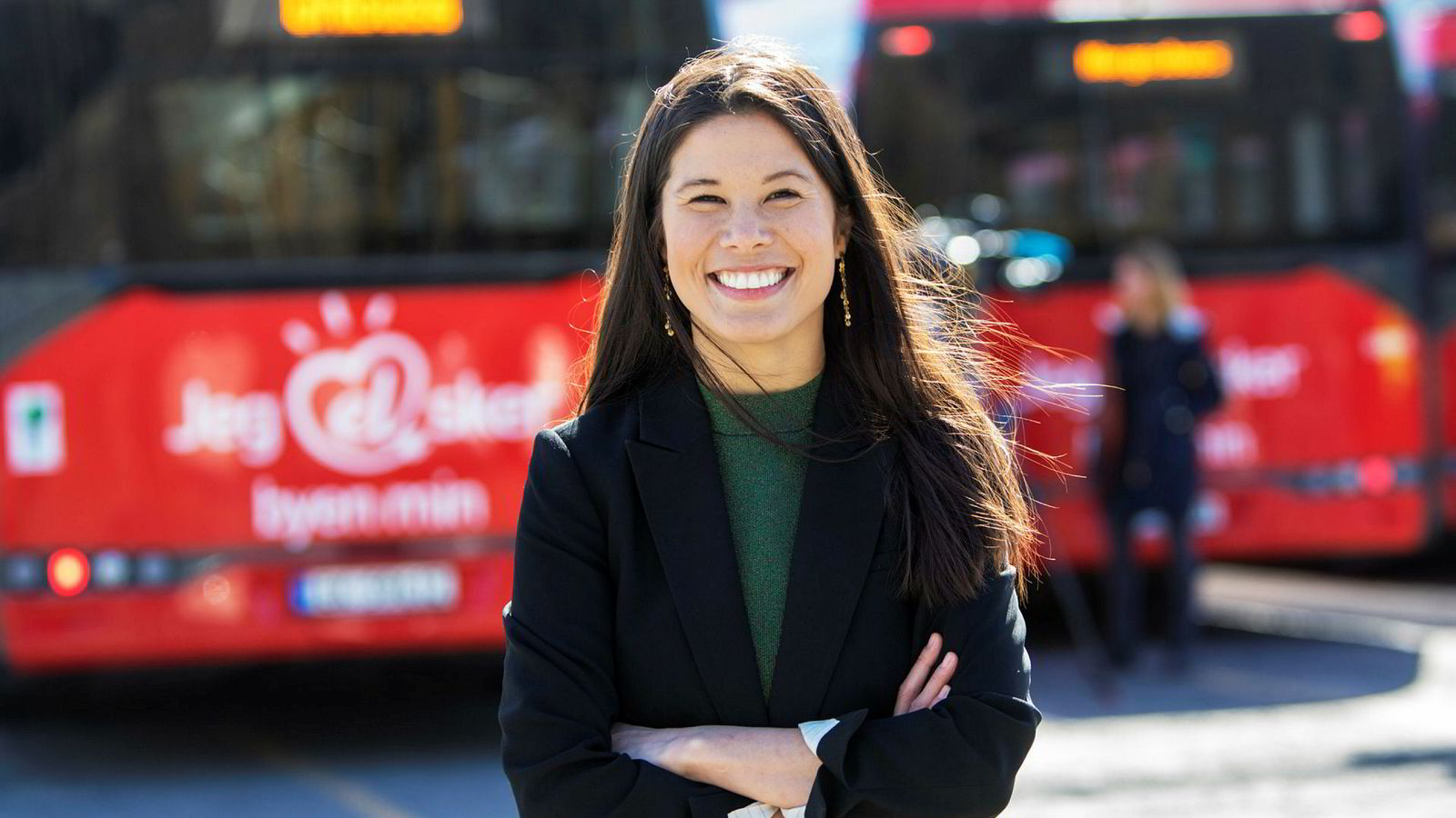 Miljøbyråd Lan Marie Nguyen Berg (MDG) er fornøyd med at MDG går fram på meningsmålingene.