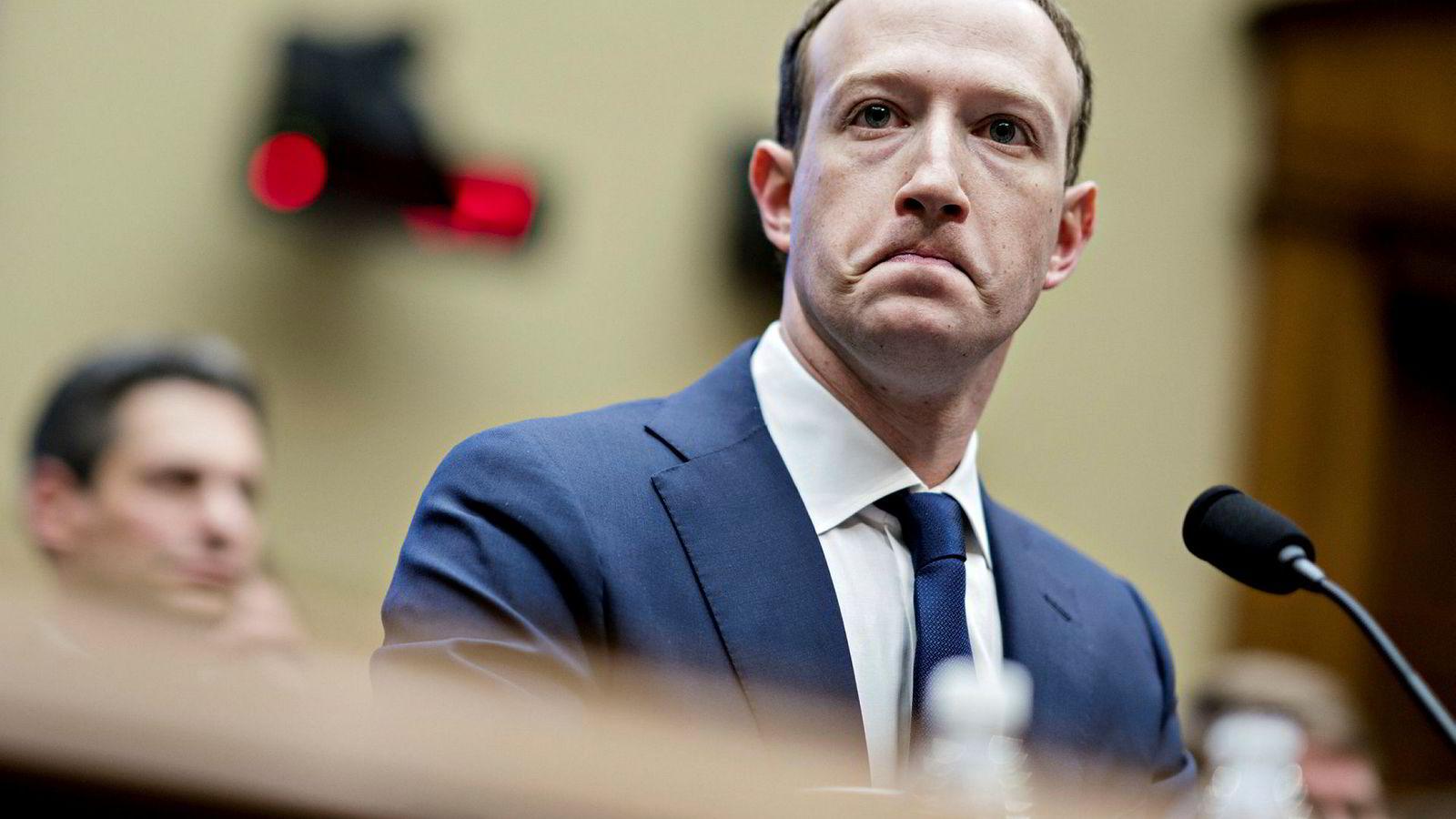Etter et turbulent 2018, måtte Mark Zuckerberg, administrerende direktør, grunnlegger og styreleder i Facebook, så skolerett for den amerikanske kongressen.