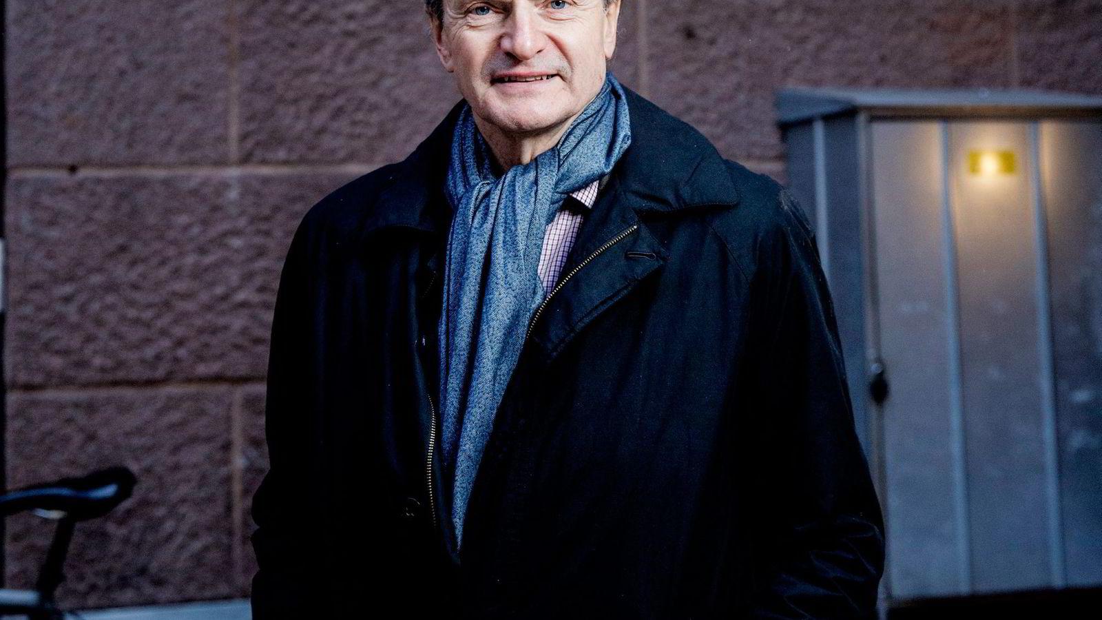 «Etter vitnegjennomgåelsen i første halvår 2014, fikk jeg tilgang til konfidensiell informasjon fra etterforskende myndigheter. I høringen i januar var det en selvfølge for meg at disse opplysningene skulle forbli konfidensielle. Jeg beklager at dette forhold ikke ble tydeliggjort i januar», skriver tidligere konsernsjef i Telenor Jon Fredrik Baksaas. Foto: Fredrik Bjerknes