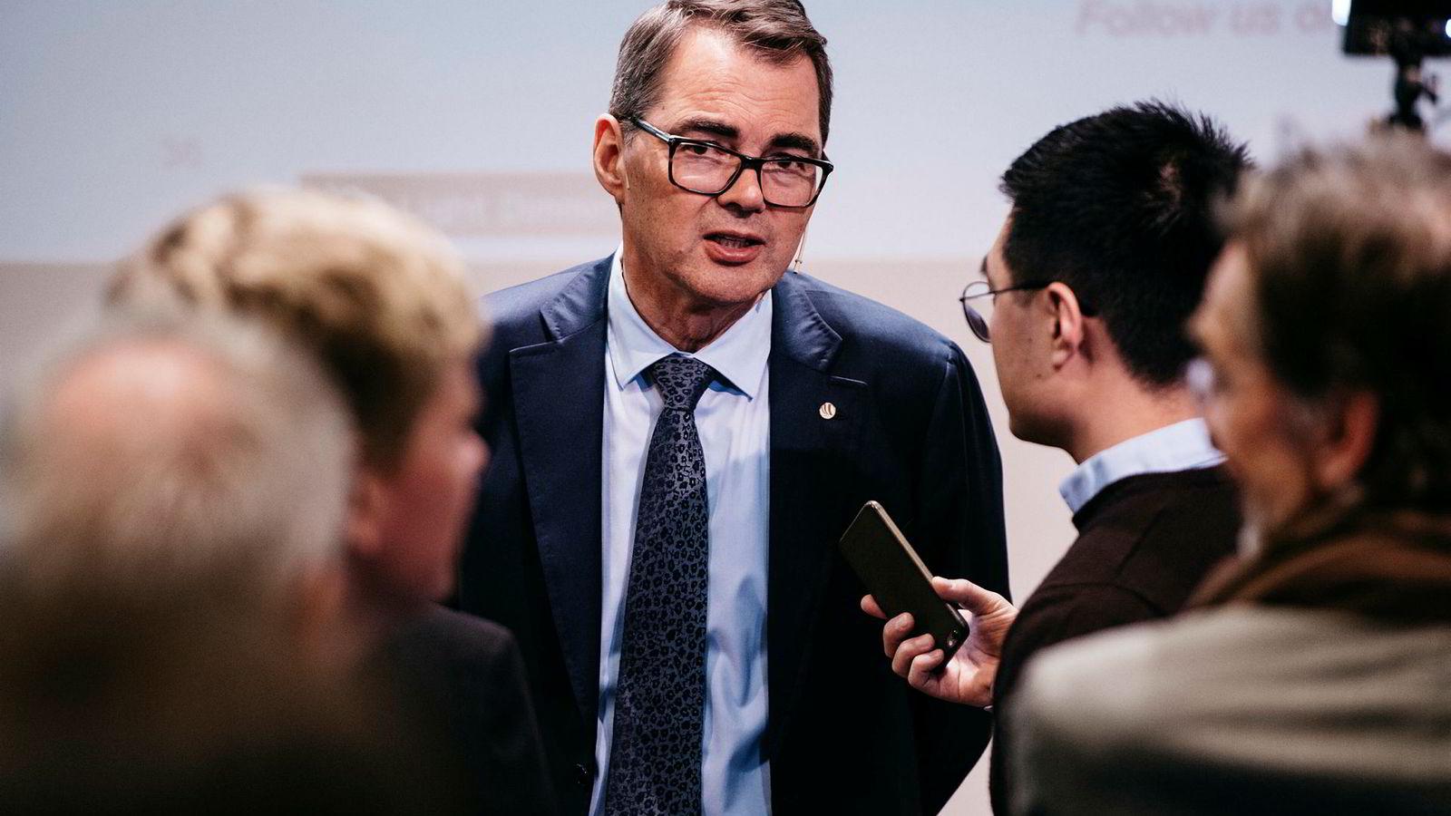 Spørsmålene har stått i kø før Hydros konsernsjef Svein Richard Brandtzæg etter onsdagens Brasil-avgjørelse.