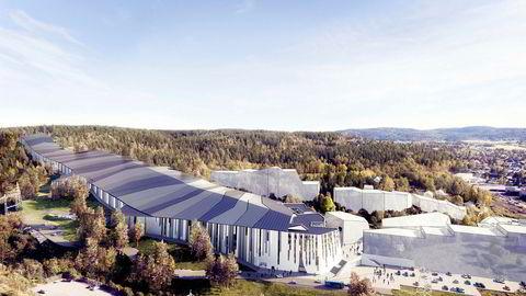 Selvaag-gruppen har store planer for skihallen på Lørenskog, som skal bli verdens største innendørs skianlegg når det skal stå ferdig i 2019.