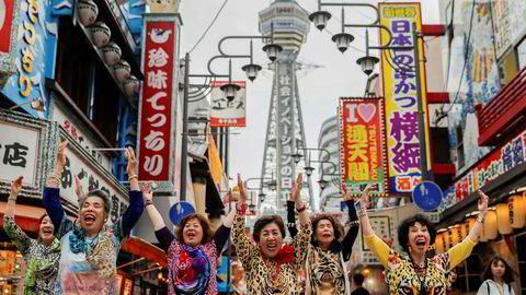 Hip-hop-dansende japanske bestemødre ønsker verdens toppledere velkommen til helgens G20-toppmøte i Osaka.