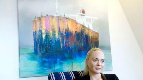 Kathrine Fredriksen i Seatankers Group vil åpne opp for ekstern kapital i det nye selskapet.
