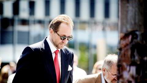 The Resource Group TRG, som eies av Kjell Inge Røkke og kona, har kjøpt Leif Arne Langøys eierandel. DN skrev i fjor at Langøy topper listen over dem som har bygget seg opp størst formue blant Aker-toppene. Foto: Ida von Hanno Bast