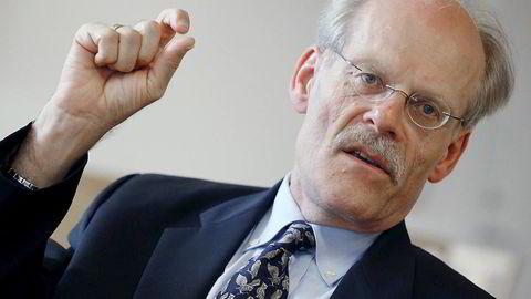 Stefan Ingves er sentralbanksjef i Riksbanken. Foto: BOB STRONG/NTB SCANPIX