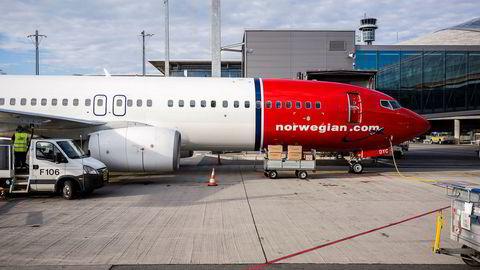 Norwegian styrker laget.