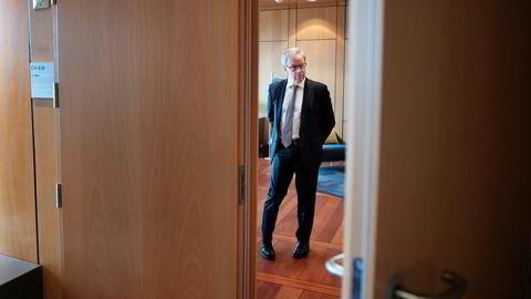 Det løser ikke klimaproblemet å bremse norsk oljenæring, ifølge sentralbanksjef Øystein Olsen som brukte torsdag formiddag på å snakke med journalister om årstalen.