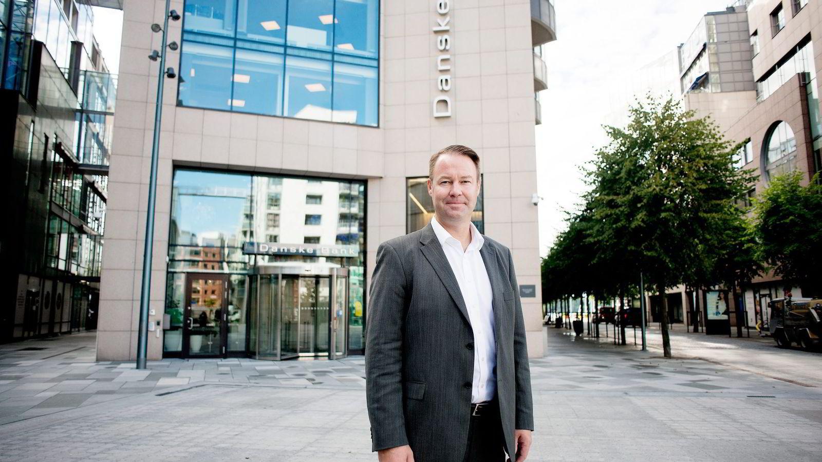 – Vi var først i januar med renter under tre prosent og er nå først under to prosent, sier Trond F. Mellingsæter, Norges-sjef i Danske Bank