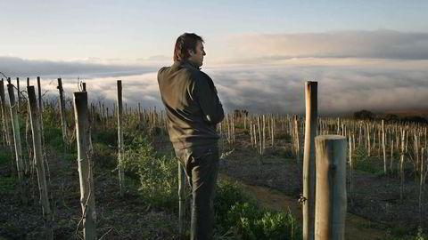 Eden Sadie i vinmarken Clos Cheval. Foto: Sadie Family Estates