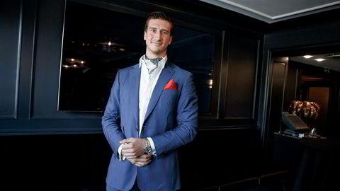 27 år gamle Pierre Vannineuse er mannen bak Alpha Blue Ocean som har forpliktet seg til å finansiere norske selskaper for flere hundre millioner kroner.