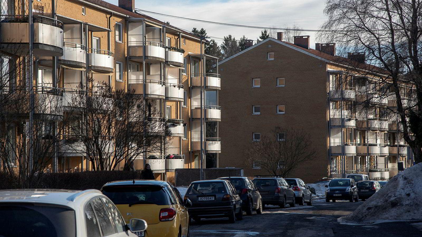 OBOS-leiligheter på Lambertseter. Leiligheter OBOS Borettslag Eiendom Drabantby Oslo