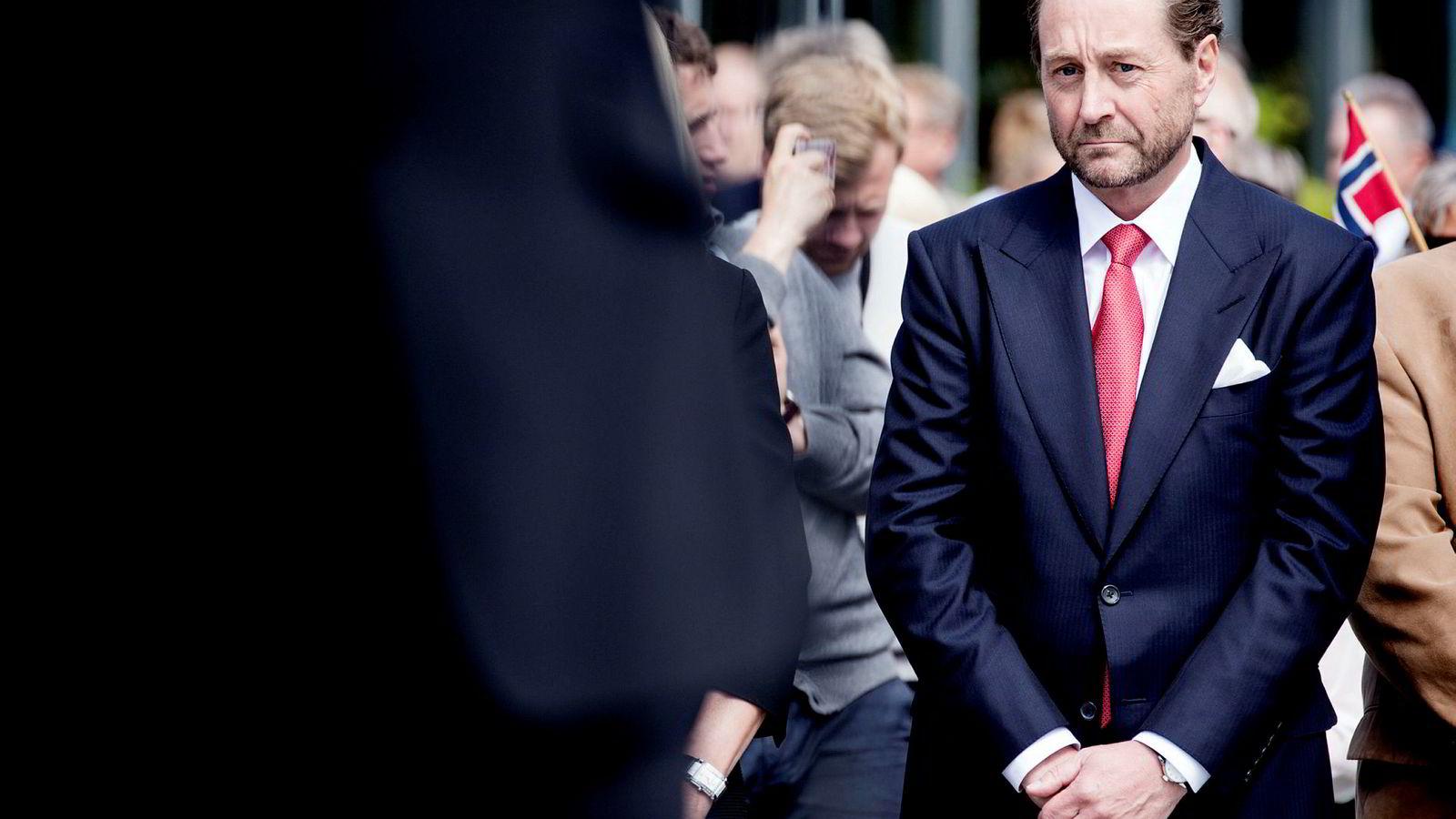 Kjell Inge Røkke handlet med Aker, der han er største eier og styreleder.