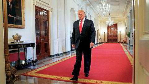 – Det vil være på sin plass at Russland er med, sa Donald Trump tirsdag.