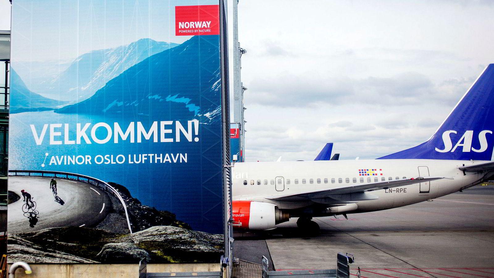 Både SAS og Norwegian oppnår høyere billettpriser.