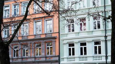 Boligeiere i Oslo har fått boligskatt. Foto: Skjalg Bøhmer Vold