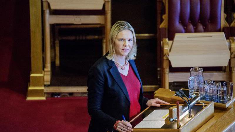 Tidligere landsbruksminister Sylvi Listhaug.