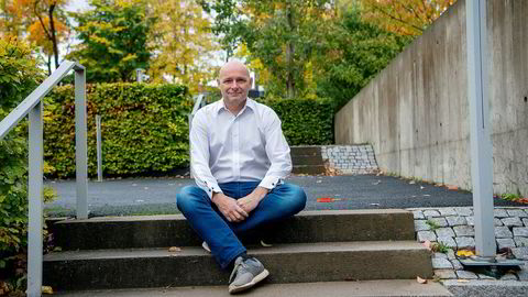 Seriegründer Geir Førre er største eier og styreleder i Airthings. Nå tar han selskapet på børs.