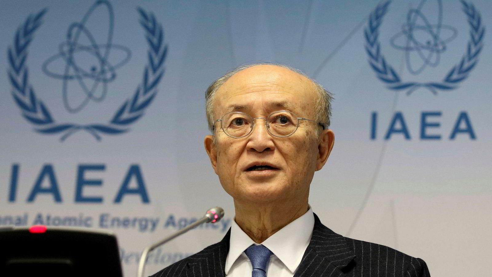 Energibyråets leder Yukiya Amano skal på onsdagens krisemøte informere representant om de siste funnene om Irans atomprogram.